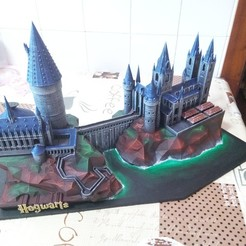 3D printing model Hogwarts School of Witchcraft, mgg_1