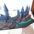 Descargar Modelos 3D para imprimir gratis Escuela de Brujería de Hogwarts, mgg_1