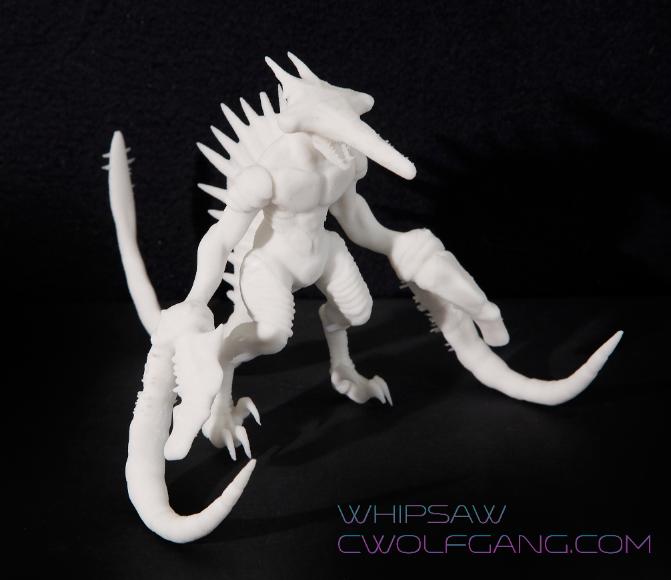 Screen Shot 2015-09-01 at 7.17.06 AM.png Download STL file Kaiju Whipsaw • 3D printer template, ChristianWolfgang