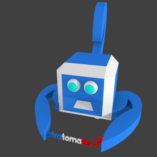 Mascotte3d_blender.png Download free STL file Mascot stratomaker contest • Model to 3D print, parizot