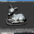 Free STL file Scan 3D stone doe, parizot