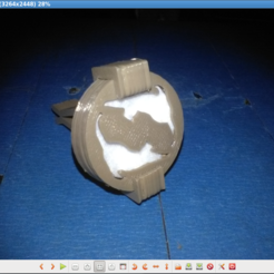 Imprimir en 3D gratis difusor de aceite esencial de un coche, parizot