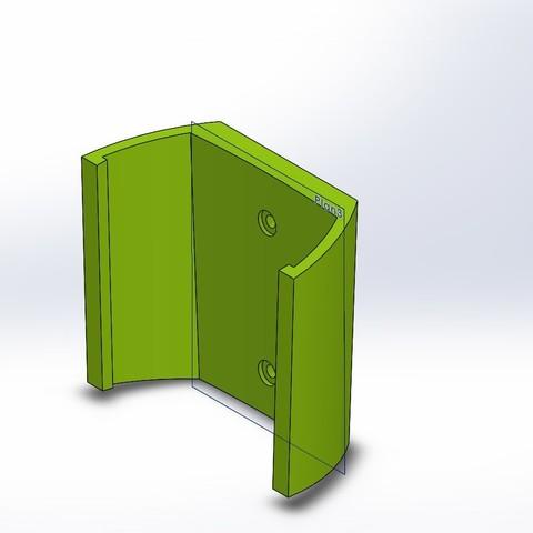 Download STL file Wall mount t340 for room thermostat • 3D printer model, corto_maltese