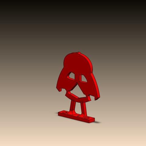 Free 3D printer model DARKVADOR ANTENNE GUARD, corto_maltese