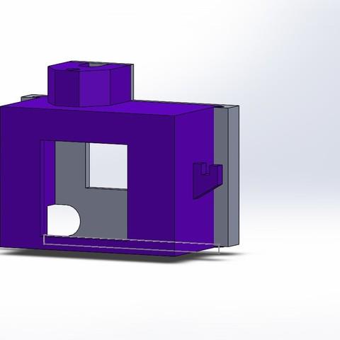 Download STL file protection camera Eachine qx95 • 3D printer object, corto_maltese
