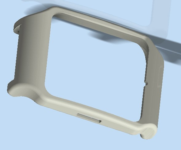 preview.jpg Download STL file sony smartwatch 3 holder • 3D printable design, MZTutto3D