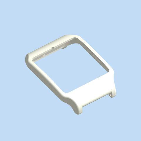 render2.jpg Download STL file sony smartwatch 3 holder • 3D printable design, MZTutto3D