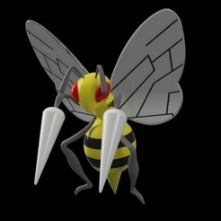 Download free STL file Beedrill, Philin_theBlank