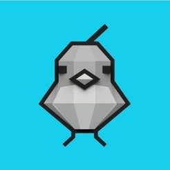 Download free STL files Pokemon Bird Sprite, Philin_theBlank