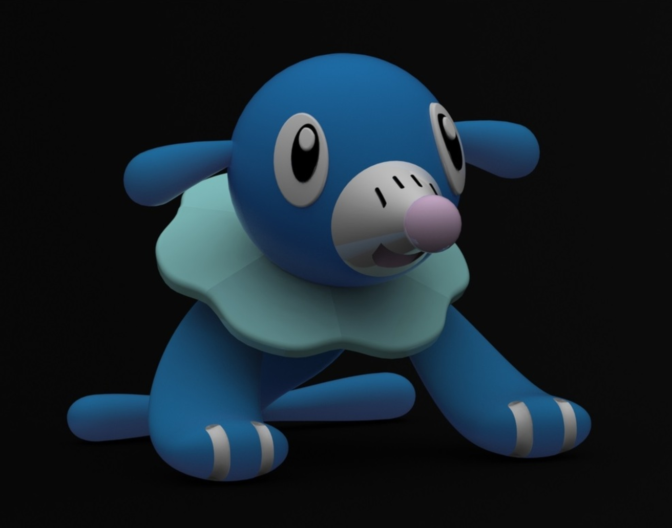 Capture d'écran 2016-12-26 à 18.04.21.png Download free STL file Popplio • Object to 3D print, Philin_theBlank