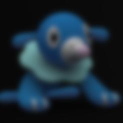 Popplio.STL Download free STL file Popplio • Object to 3D print, Philin_theBlank
