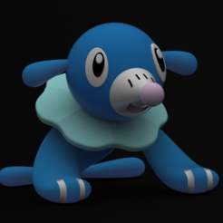 Download free 3D printer templates Popplio, Philin_theBlank