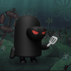 Hash_BB_Render_2.png Download free STL file The Hash Slinging Slasher! • 3D print object, Philin_theBlank
