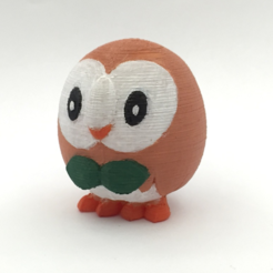 Capture d'écran 2016-12-26 à 18.01.32.png Download free STL file Rowlet • 3D printing object, Philin_theBlank