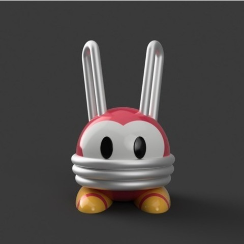 Download free 3D printer model MMBN - Bunny Virus, Philin_theBlank