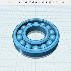 3D print files Ball bearing 0.6 tol, Aurelian