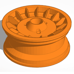 Download free 3D printer designs R5 Alpine turbo R5 rim, NicolasChestier