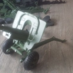 Download 3D printer model oto melara, radeon