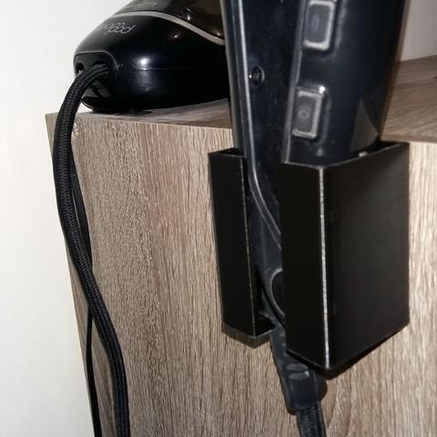 mod le 3d gratuit support lisseur steampod 3 0 l 39 or al cults. Black Bedroom Furniture Sets. Home Design Ideas