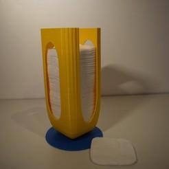 modelos 3d dispensador de algodón, Avenue-Des-Createurs