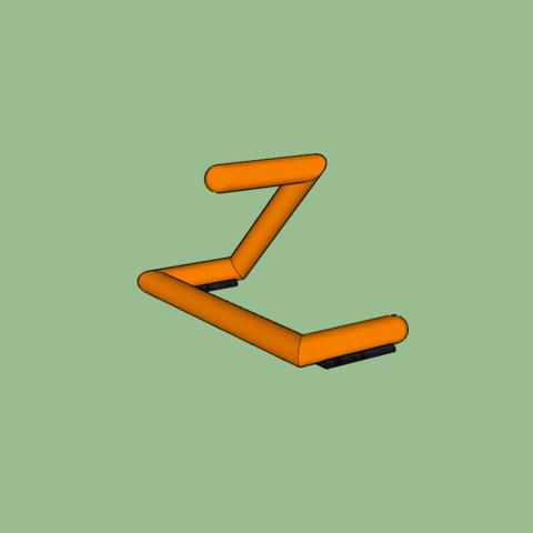 Download free 3D printing templates External coil holder, design, Zerack