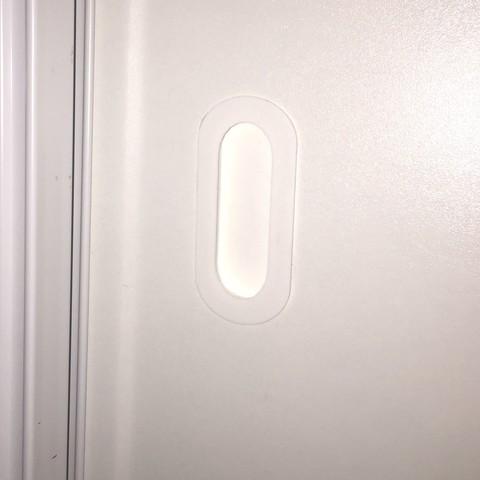 Free 3D printer model sliding door handle, domarbonne