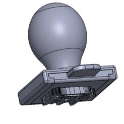 Descargar modelo 3D gratis entintado logotipo de sello personalizado, QuentinPla