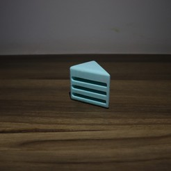 Download free 3D printing designs Reddit Cake SD Card Holder, Drex