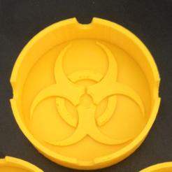 Descargar modelos 3D para imprimir Cenicero Biohazard, Drex
