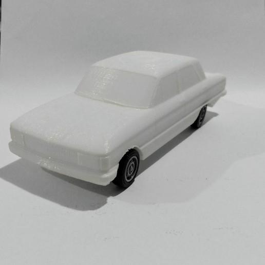 Imprimir en 3D Ford Falcon, 2s3dprinting