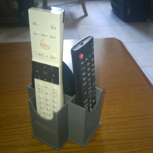 Download free STL Range telecomandes, Cyborg