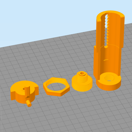 Simplify3D_ufdUYt2xFi.png Download free STL file REMIX OF A REELSTAND • 3D printable template, Cyborg