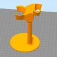 Télécharger modèle 3D gratuit support rasoir et blaireau, Cyborg