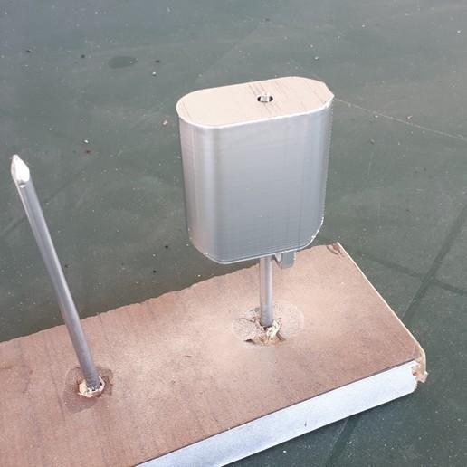 20200522_112917.jpg Download free STL file shower bar base • 3D printable design, Cyborg