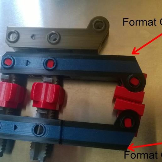 Télécharger fichier OBJ gratuit serre joint remix • Plan imprimable en 3D, Cyborg