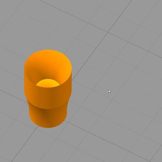 Simplify3D_2018-04-30_00-13-15.jpg Download free STL file guide filament pour extrudeur • Model to 3D print, Cyborg