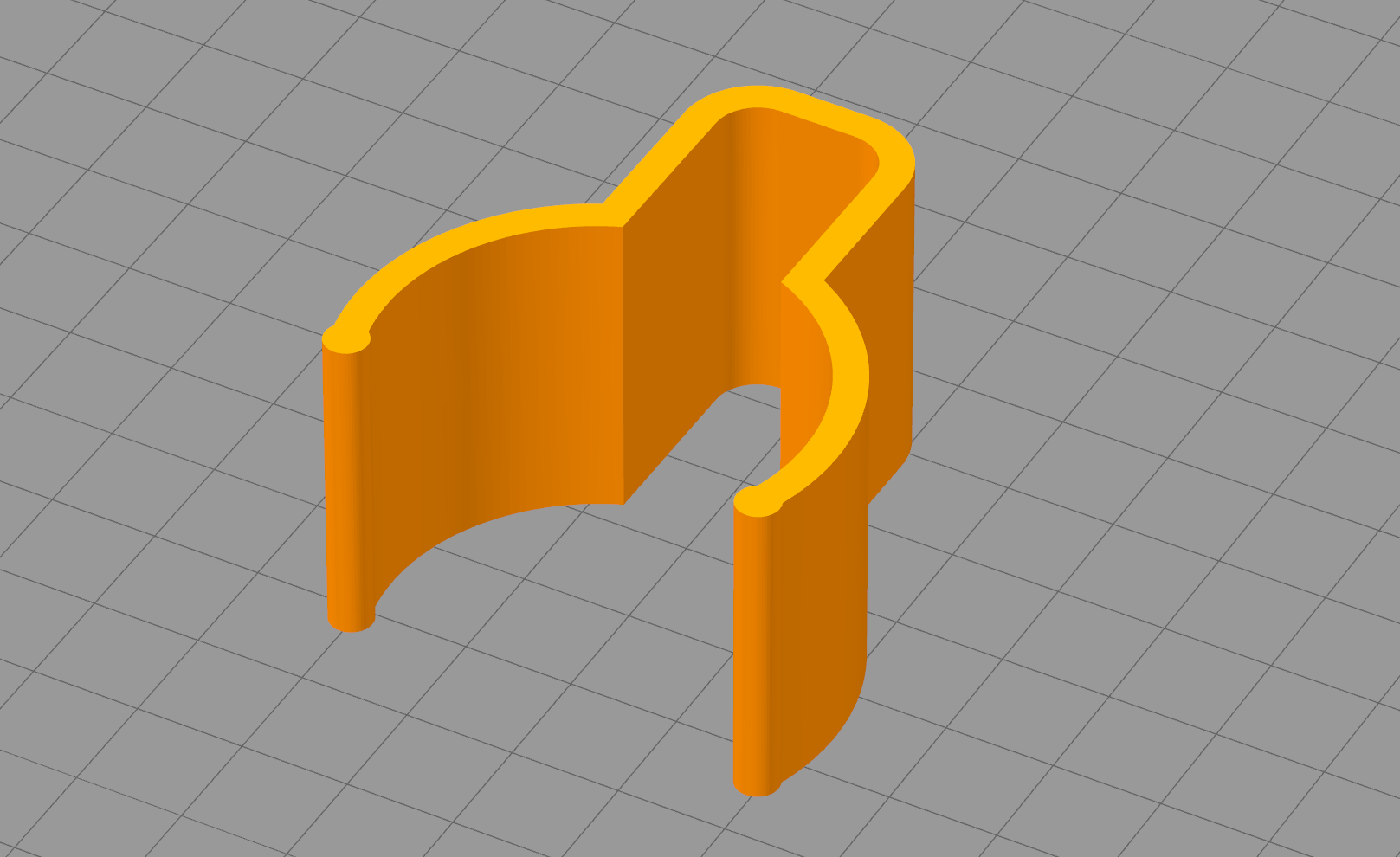 "Simplify3D_UEENGqQc7h.png Download free STL file clips pour ranger le câble "" hot air gun "" • 3D printing object, Cyborg"