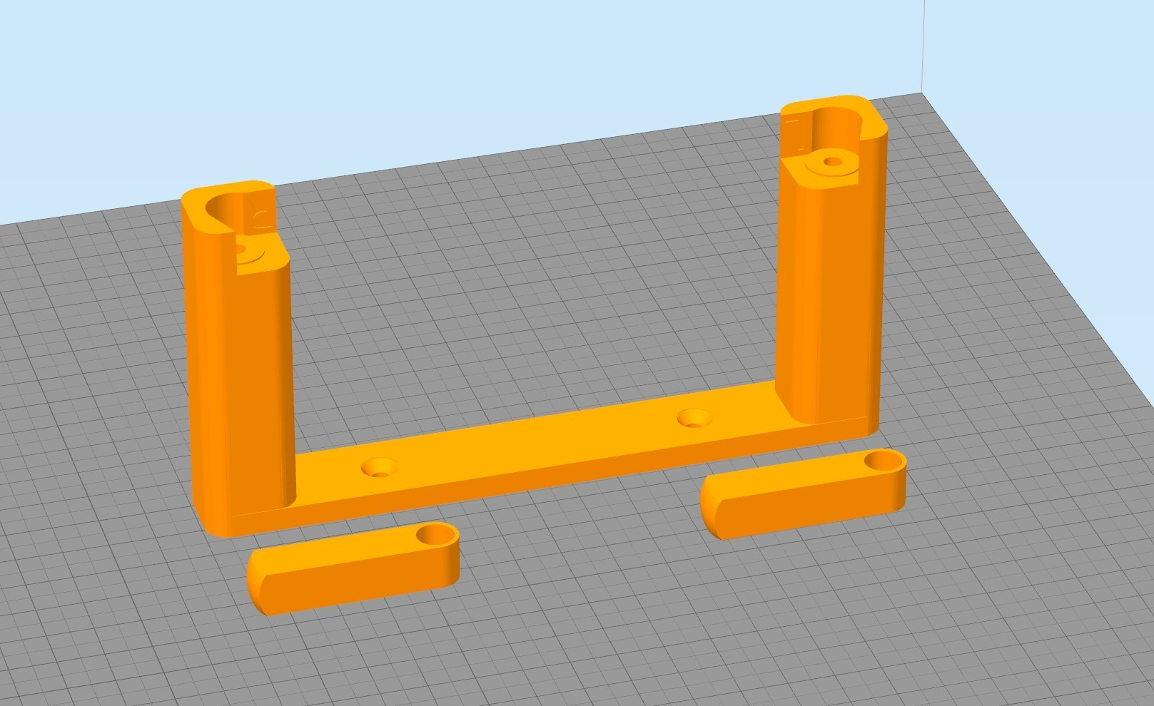 Simplify3D_2018-08-08_00-48-21.jpg Download free STL file stand rouleau WC remix • 3D printing model, Cyborg