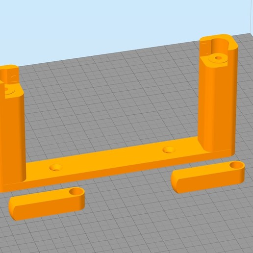 Download free 3D printer model stand rouleau WC remix, Cyborg