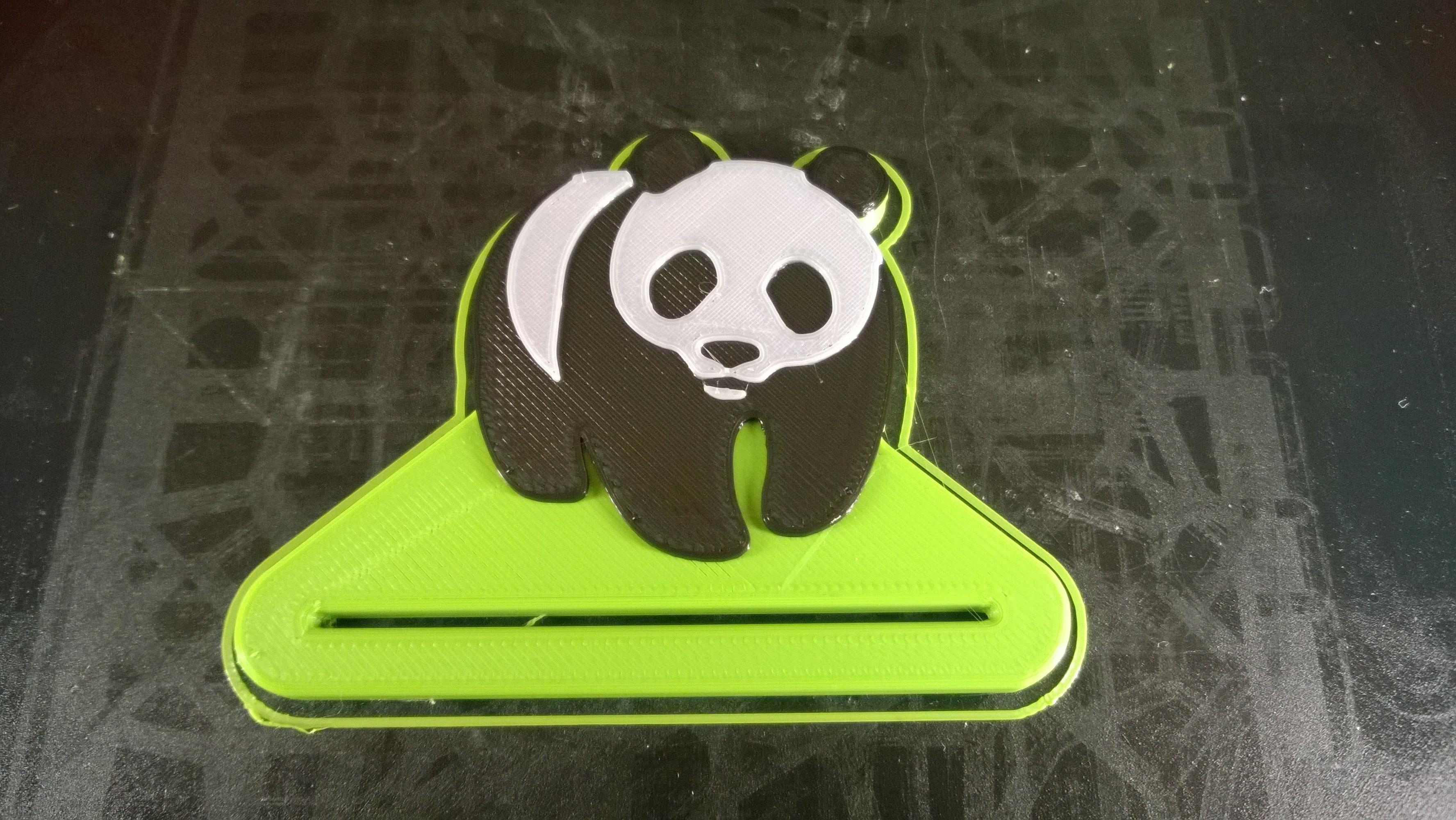 WP_20170828_20_26_09_Pro.jpg Télécharger fichier STL gratuit Panda dentifrice • Modèle pour imprimante 3D, Cyborg