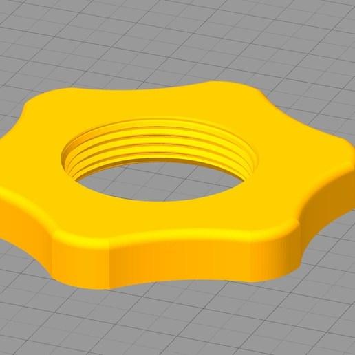 Simplify3D_2018-10-23_23-57-52.jpg Download free STL file Ecrou M 30  x 1,5 spool holder : Cr-10 et Cr-10s • 3D print object, Cyborg