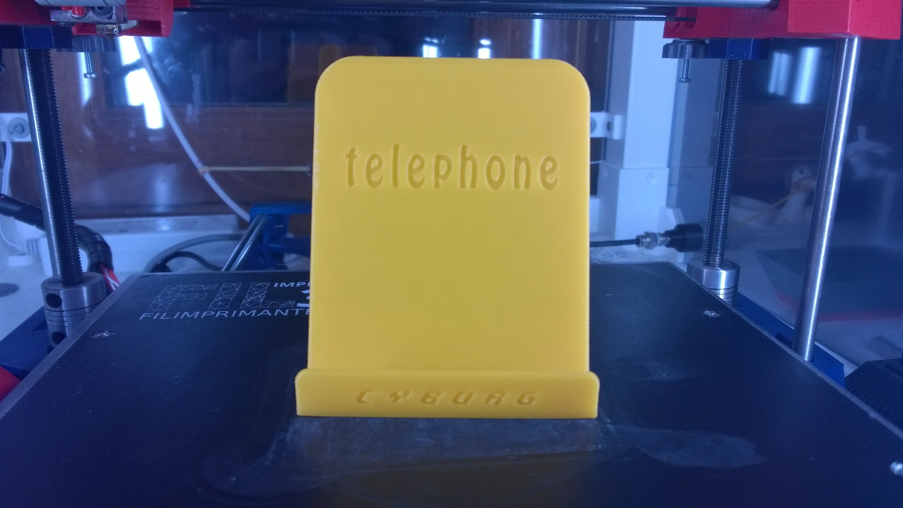 WP_20171115_00_26_05_Pro.jpg Download free STL file Phone support • 3D print object, Cyborg