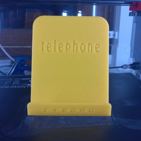 Free 3D file Phone support, Cyborg