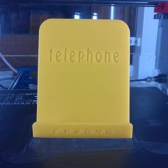 Free 3D printer designs Phone support, Cyborg