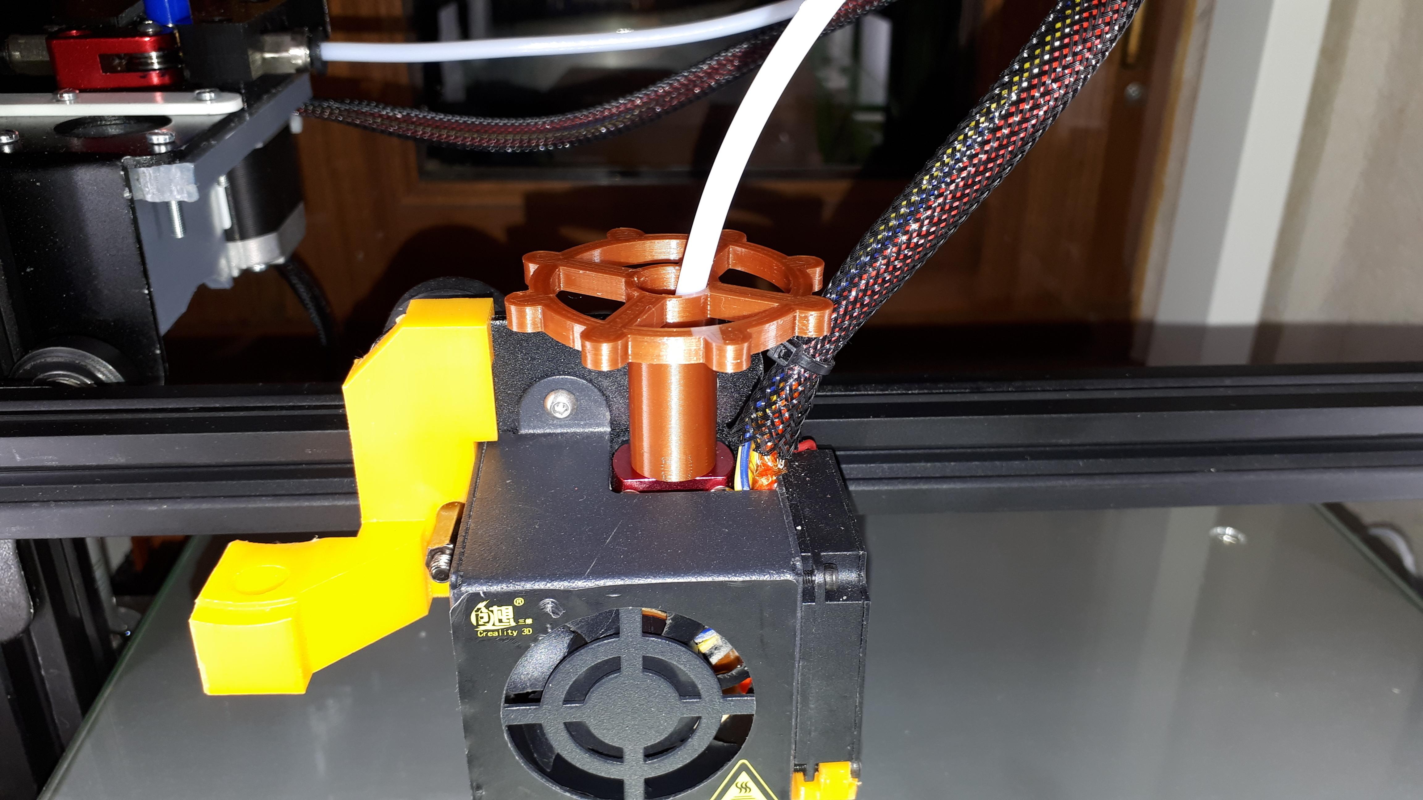 20180507_041632.jpg Download free STL file clé pour raccord pneumatique du corps de chauffe CR-10 . • 3D printable template, Cyborg