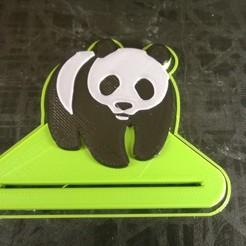 Descargar STL gratis Dentífrico de panda, Cyborg