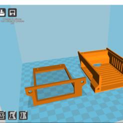 Télécharger fichier 3D gratuit Raspberry pi 3 boitier + écran 4 pouces, Cyborg