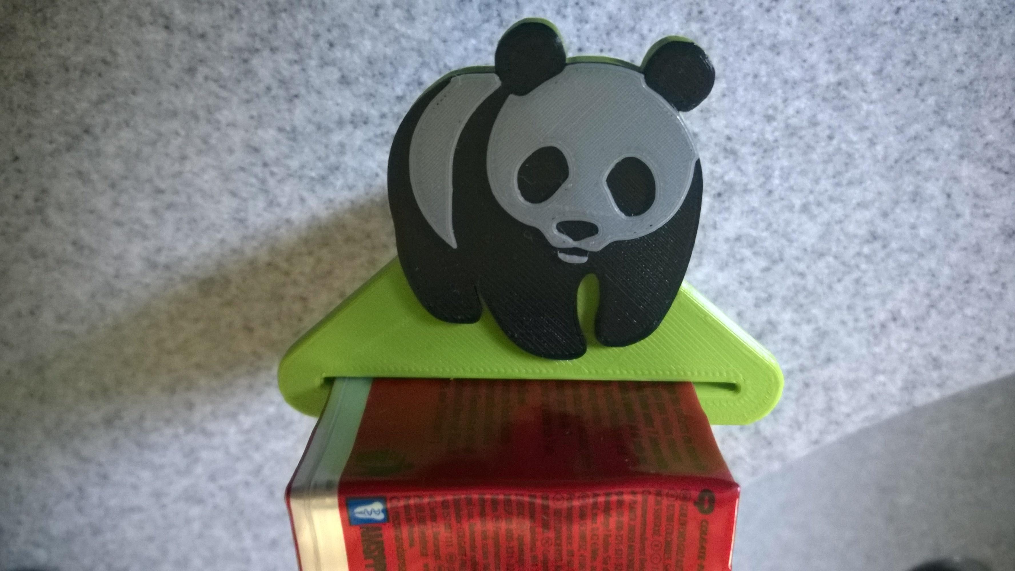 WP_20170829_12_34_21_Pro.jpg Télécharger fichier STL gratuit Panda dentifrice • Modèle pour imprimante 3D, Cyborg