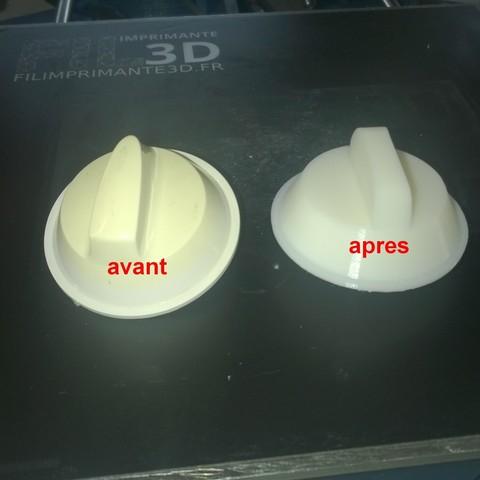 avant2.jpg Télécharger fichier STL gratuit button MICRO WAVE COMBINED FEATURED DX 24 WHITE bouton MICRO ONDES COMBINÉ VEDETTE DX 24 BLANC • Objet imprimable en 3D, Cyborg