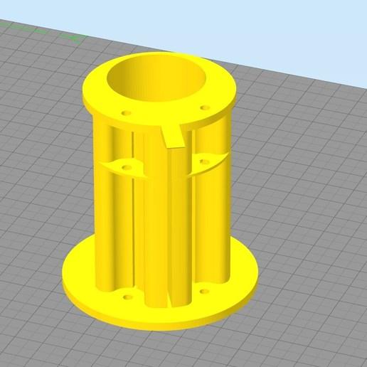 Simplify3D_2018-10-18_13-48-07.jpg Download free STL file support de bobines • 3D print model, Cyborg